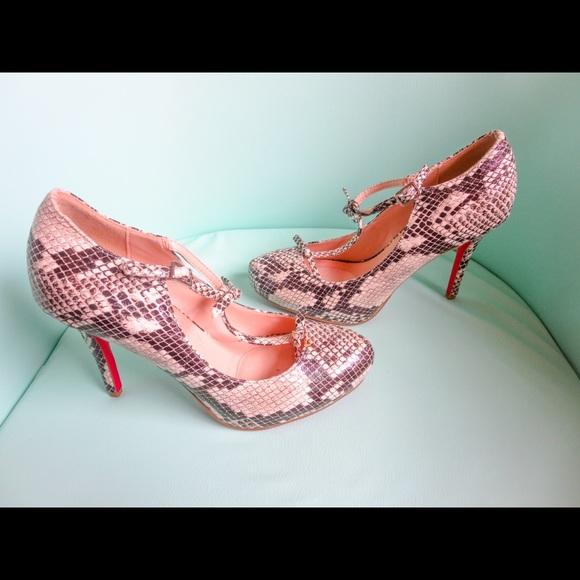 265e51579 JustFab Shoes | New Signature Mary Jane Heels Size 7 | Poshmark